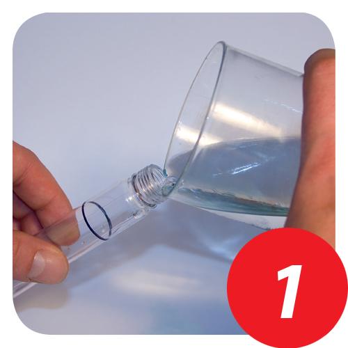 Aqua Check 2 Funktionsweise Schritt 1