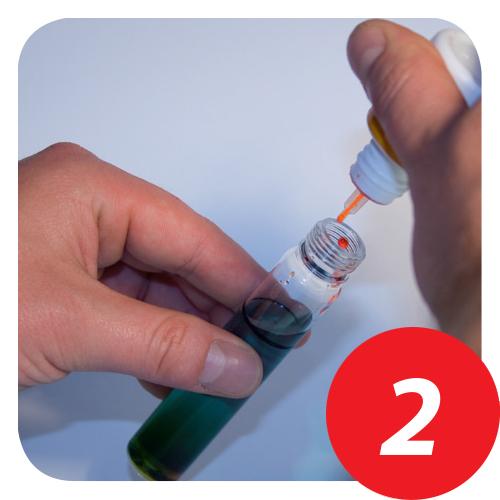 Aqua Check 2 Funktionsweise Schritt 2
