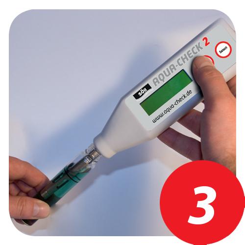 Aqua Check 2 Funktionsweise Schritt 3