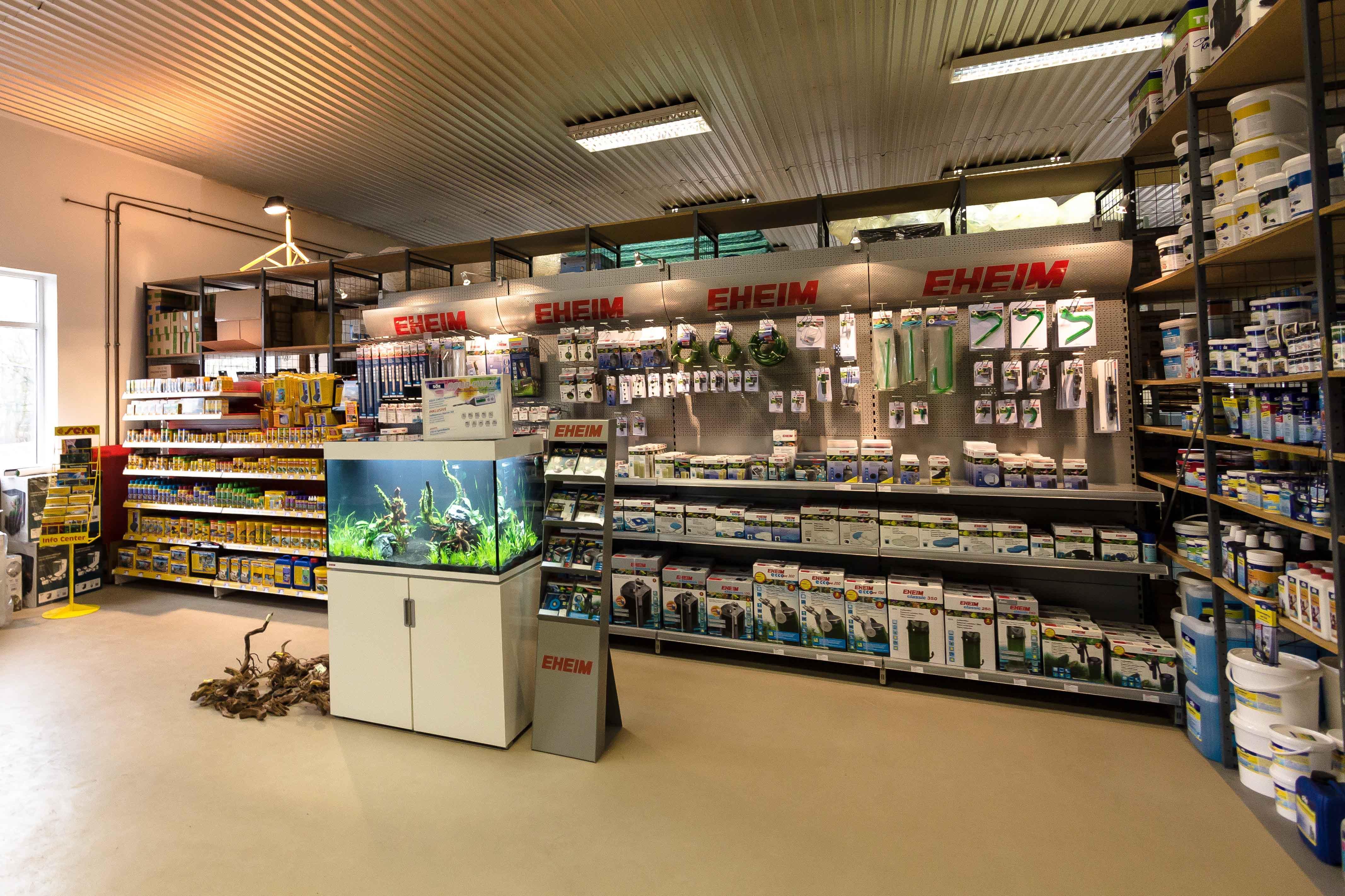 Outlet shop f r aquaristik terraristik und teichzubeh r for Aquaristik shop