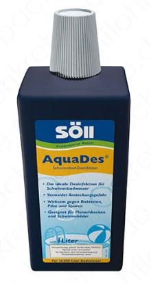 Söll AquaDes Desinfektionsmittel für Swimmingpools und Schwimmbecken