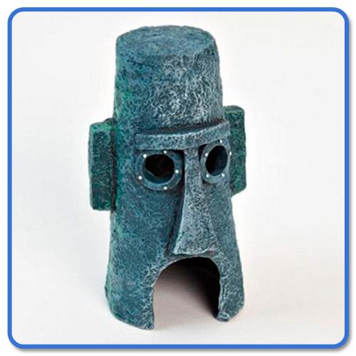 Thaddaeus haus aus dem spongebob universum aquarium for Dekoration universum