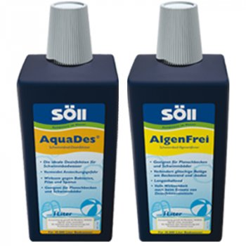 Söll AlgenFrei  1L + Söll AquaDes 1 L im Sparpaket