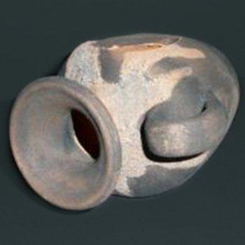 Amphore schwarz klein 10 cm x 12 cm