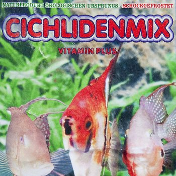 Cichlidenmix 100g Frostfutter