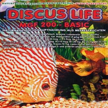 Discus Life MGF 200 basic mit Meeresfrüchten