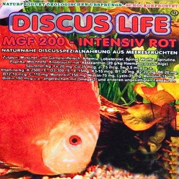 Discus Life intensiv Rot 200g Frostfutter