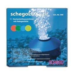 Schego lux air teich ausstr mer teichbeleuchtung for Algenfresser teich