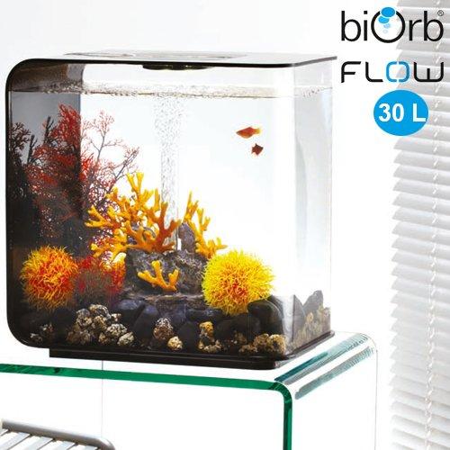 biorb flow 30 liter mit lavafels und feuerkorallen biorb. Black Bedroom Furniture Sets. Home Design Ideas