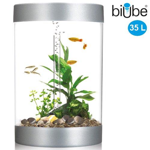 biube 35 l komplett aquarium mit led lichteinheit standard. Black Bedroom Furniture Sets. Home Design Ideas