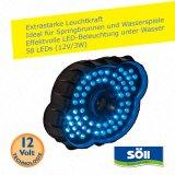 LEDPond P-58 Fontänenbeleuchtung blau oder weiß