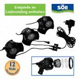 LEDPond P-3 Unterwasserbeleuchtungs-Set