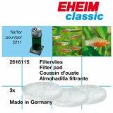 Eheim Filtervlies für Classic 150 /  2211 3 Stück