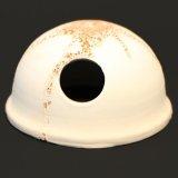 Kokosnuß Höhle Weiß 8 x 12 cm
