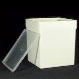 Transportbox weiß mit ganzem Deckel 5,8L