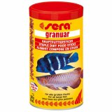 Sera Granuar - Futtersticks für Großfische - 1 Liter