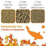 Herbstfutter Koi  -  3 Sorten im Sparpaket