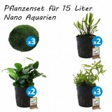 Pflanzenset für 15 Liter Nano Aquarien