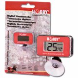 Rotes Digitales Thermometer Terra