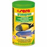 Sera Granugreen - Grünfutter für Cichliden