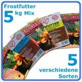 Frostfutter Diskus Mix 5 kg - 5 Sorten à 1kg