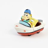 SpongeBob Figur: SpongeBob und Mrs. Puff im Boot