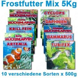 10 Frostfuttersorten im praktischen Mix